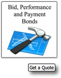 bid, performance and payment bonds